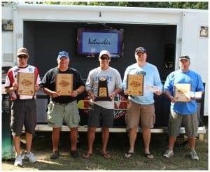 Top 5 Anglers